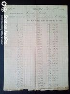 1881 NEW YORK X WOHLEN - BY KURTZ, STUBOECK & CO. - USA