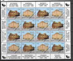 Hungary 1991 ACCESSION TO CEPT Specimen MS Mi: 4131 – 4132 - Variedades Y Curiosidades