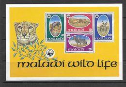 Malawi 1978 Wildlife MS MNH Mi: Bl52 - Nuevos