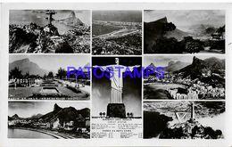135052 BRAZIL BRASIL RIO DE JANEIRO MULTI VIEW  POSTAL POSTCARD - Brasile