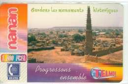 BURKINA FASO RECHARGE GSM MONUMENTS HISTORIQUES - Burkina Faso
