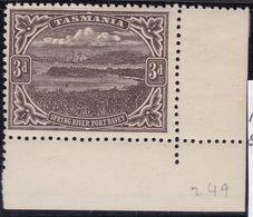 TASMANIA 1909 P.12.5 SG 253 Mint Hinged - 1853-1912 Tasmania