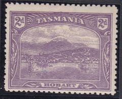 TASMANIA 1907 P.12.5 SG 251 Mint Hinged - 1853-1912 Tasmania