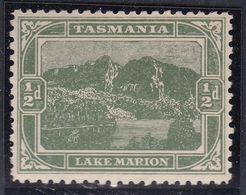 TASMANIA 1908 P.11 SG 249a Mint Hinged - 1853-1912 Tasmania