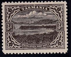 TASMANIA 1909 P.11 SG 253b Mint Hinged - 1853-1912 Tasmania
