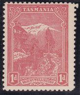 TASMANIA 1905 P.11 SG 250a Mint Hinged - 1853-1912 Tasmania