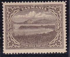 TASMANIA 1906 P.12.5 SG 246 Mint Hinged - Nuevos