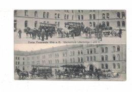 Germany  Freiw. Feuerwehr Ulm A.D. Weckerlinie Loschzuge I And II - Germany