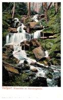 Germany   Stuttgart Wasserfalle Im Hasenbergwalde - Germany