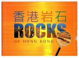 Hong Kong 2002 Rocks Of Hong Kong Presentation Pack MNH Lamma Island Ping Chau - 1997-... Chinese Admnistrative Region