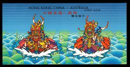 2003 Hong Kong Australia Joint Issue Dragon Boat Racing MS Presentation Pack MNH - 1997-... Chinese Admnistrative Region