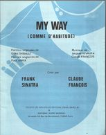 """""""My Way"""" """"Comme D'habitude"""" Frank Sinatra - Claude François - Musica & Strumenti"""