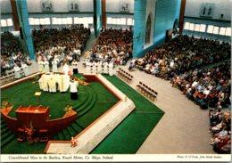 Ireland Mayo Knock Shrine Concelebrated Mass In The Basilica - Mayo