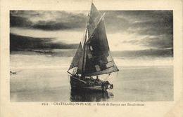 CHATELAILLON PLAGE  Etude De Barque Aux Bouvcholeurs RV - Châtelaillon-Plage