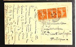 32946 - Variété  Piquage  à Cheval - Marcophilie (Lettres)
