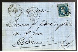 32951 - Convoyeur Station St ROMAIN LE  PUY - Postmark Collection (Covers)