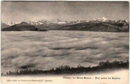 61thg 528 CPA - CHAINE DU MONT BLANC - VUE PRISE DU SALEVE - Chamonix-Mont-Blanc