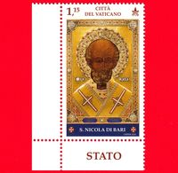 Nuovo - MNH - VATICANO - 2020 - 1750 Anni Della Nascita Di S.Nicola Di Bari - Icona Russa Di S. Nicola – 1.15 - Nuevos
