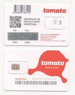 Croatia, Tomato, Mint SIM Card With Chip - Croatie