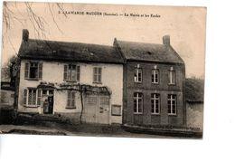 CP LAWARDE-MAUGER (Somme) La Mairie Et Les Ecoles - France