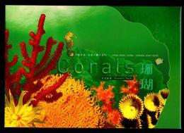 Hong Kong Canada 2002 Corals 2 M/S Souvenir Presentation Pack MNH - 1997-... Chinese Admnistrative Region