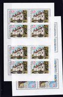Tschechische Republik, KB 332/33 (*), Nominale 208 Kc (K 6197d) - Hojas Bloque