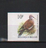 BUZIN / TIMBRE NON DENTELE - NUMEROTE AU VERSO  43  / COB 2783 / TOURTERELLE DES BOIS - 1985-.. Vögel (Buzin)
