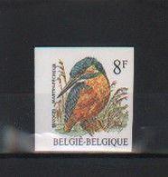 BUZIN / TIMBRE NON DENTELE - NUMEROTE AU VERSO  301  / COB 2240 / MARTIN PECHEUR - 1985-.. Vögel (Buzin)