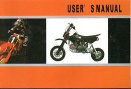 Manual Manuel Mini Moto User / - Motos