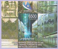 Uzbekistan 2019. Archive. 100 Years.  MNH - Uzbekistán