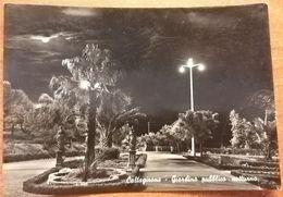 Caltagirone (Catania). Giardino Pubblico - Notturno. - Catania
