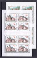 Tschechische Republik, KB 469/70 (*), Nominale 216 Kc (K 6199) - Hojas Bloque