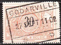 TR19  Chiffres Noirs - Bonne Valeur - Oblit. GODARVILLE - LOOK!!!! - Bahnwesen