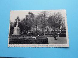 EISDEN Ste BARBE Standbeeld Der Koningin Elisabeth ( 10 - Librairie Senden / Albert ) Anno 19?? ( Zie / Voir Photo) ! - Maasmechelen