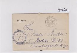 GG: Feldpost: FPNr. 04343A, 04976 Nach Berlin - Besetzungen 1938-45