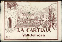 La Cartuja Valldemosa Truyol Libro De Folletos Con 10 Viejas Postales - Mallorca