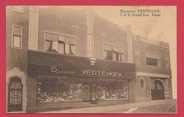 Dour - Top Carte - Boutique Du Chapelier Raymond Vertenoeil ( Voir Verso ) - Dour
