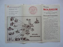VIEUX PAPIERS - DEPLIANT TOURISTIQUE : MOLSHEIM - Tourism Brochures
