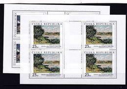 Tschechische Republik, KB 577/78 (*), Nominale 196 Kc (K 6200a) - Hojas Bloque