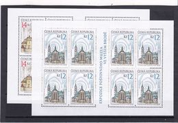Tschechische Republik, KB 596/97 (*), Nominale 208 Kc (K 6200b) - Hojas Bloque