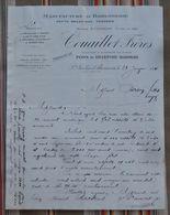 76 SAINT NICOLAS D'ALIERMONT Couaillet Freres Horlogerie 1917 PONS DELEPINE BARROIS - 1900 – 1949