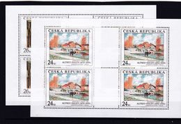 Tschechische Republik, KB 614/15 (*), Nominale 200 Kc (K 6200d) - Hojas Bloque