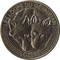 2016 MDP148 - SAINT-LÉGER-DE-PEYRE - Les Loups Du Gévaudan 4 (Les Deux Loups) / MONNAIE DE PARIS 2016 - 2016