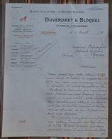 76 SAINT NICOLAS D'ALIERMONT DUVERDREY BLOQUEL Horlogerie REVEIL BAYARD Perfectionne 1915 - 1900 – 1949