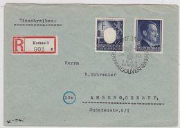 Generalgouvernement R-Brief Mit MIF Mit SST - Occupation 1938-45