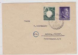 Generalgouvernement Brief Mit MIF Mit SST - Occupation 1938-45