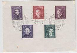 Generalgouvernement Brief Mit Satzfrankatur+SST - Occupation 1938-45