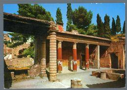 °°° Cartolina - Casa Del Rilievo Di Telefo L'atrio Nuova °°° - Ercolano