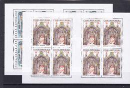Tschechische Republik, KB 428/29 (*), Nominale 230 Kc (K 6201d) - Hojas Bloque
