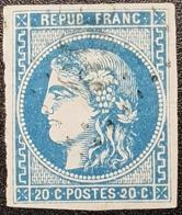 Emission De Bordeaux N° 46B Avec Oblitération Losange, Etat Bien - 1870 Emission De Bordeaux